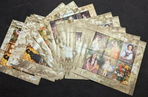 EDW1949SELL : MOZAMBIQUE 2004 Scott #1729-32 Paintings 10 Cplt sets MNH Cat $435