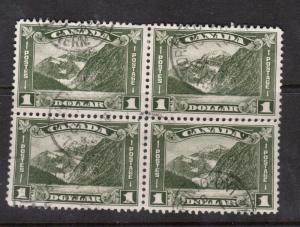 Canada #177 VF Used With Toronto CDS Cancel Block