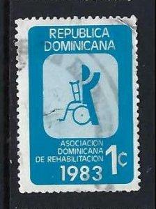 DOMINICAN REPUBLIC RA95 VFU T13-3