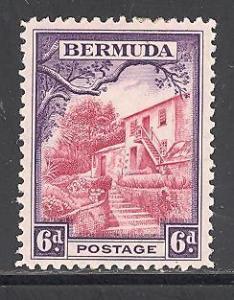 Bermuda 112 mint hinged SCV $ 1.00 (DT)