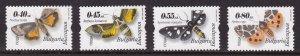 Bulgaria, Fauna, Insects, Butterflies / MNH / 2004
