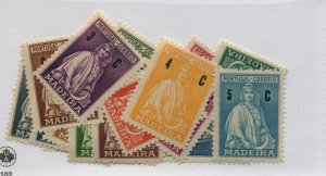 POTUGAL MADEIRA  45-65 MLH COMPLETE SET