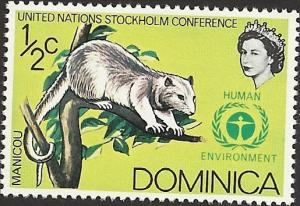DOMINICA - 454 - Unused - SCV-0.25