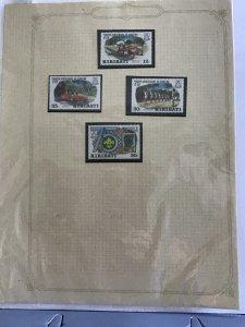 Kiribati  stamp album  pages R23489