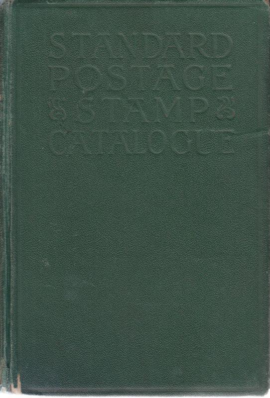 1931 Scott Standard Postage Stamp Catalogue, hardcover.