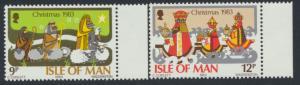 Isle of Man - SG 257-258  SC# 252-253  MUH  Christmas