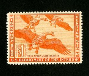 US Stamps # RW11 Superb OG NH Choice Catalog Value $125.00