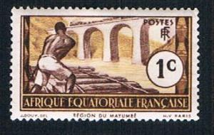 French Equatorial Africa 33 MLH Logging on Loeme (BP849)