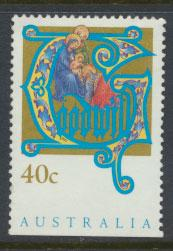 Australia SG 1432  Used  x booklet bottom margin imperf - Christmas