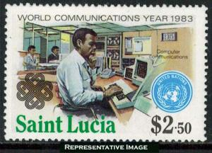 Saint Lucia Scott 610 Mint never hinged.