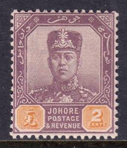 Malaya (Johore) - Scott #60 - MNH - SCV $3.00+