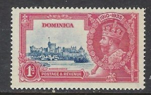 Dominica 90 MNH 1935 KGV Silver Jubilee (ap5425)