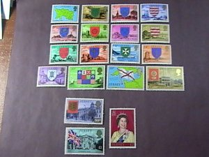 JERSEY # 137-155--MINT NEVER/HINGED*---COMPLETE SET------1976-77