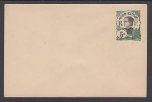 Indo-China H&G B15 mint 1908 5c Annamite Girl Envelope, VF