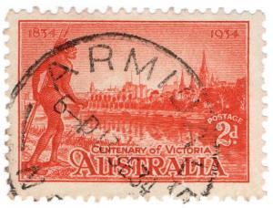 (I.B) Australia Postal : NSW Postmark (Armindale)