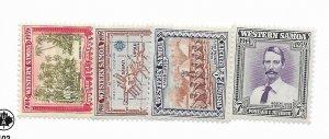 Samoa #181-184 MH - Stamp - CAT VALUE $6.10