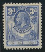 Northern Rhodesia  SG 5 SC# 5 Mint Light hinge - see details