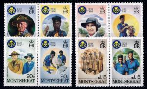 [66749] Montserrat 1986 Scouting Jamboree Pfadfinder  MNH