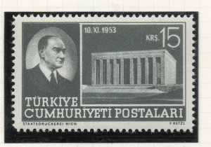 Turkey 1953 Early Issue Fine Mint Hinged 15k. NW-18191