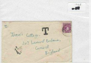 Nigeria 1948 stamps cover Ref 8713