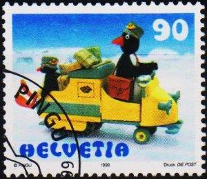 Switzerland. 1999 90c. S.G.1408 Fine Used