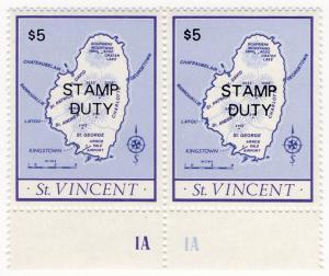 (I.B) St Vincent Revenue : Stamp Duty $5