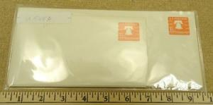 U548A, 1-6/10c U.S. Postage Envelope lot of 4