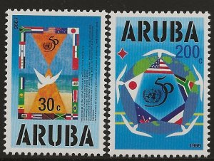 ARUBA  SC #  116 - 7    MNH