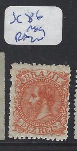 BRAZIL (P2102B)  DOM PEDRO  10R   SC 86   MOG