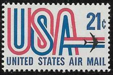 SCOTT # C81 21 CENT AIR MAIL SINGLE MINT NEVER HINGED !!