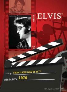 St Kitts - Elvis Presley Film That's The Way It Is - S/S - STK1202S