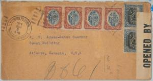 69271 - GUATEMALA - POSTAL HISTORY -    COVER to USA 1919 - CENSORED!