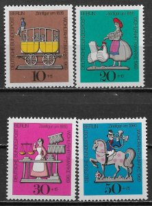 1969 Germany Berlin 9NB65-9 Tin Toys C/S MNH