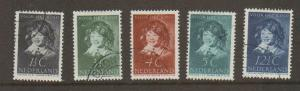 Netherlands #B98-102 Used