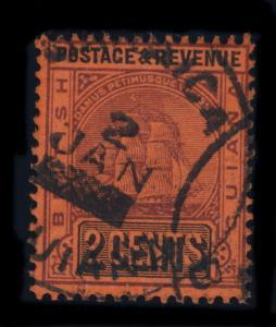 GUYANA / BRITISH GUIANA  - JAN 2 190? - MAHAICA SINGLE CIRCLE DS ON SG 241