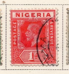 Nigeria 1921-33 Early Issue Fine Used 1d. 215291