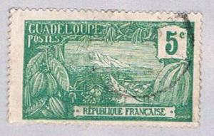 Guadeloupe 57 Used Harbor at Basse Terre 1905 (BP3028)