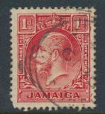 Jamaica  SG 108   Die I -Used   see scan and details