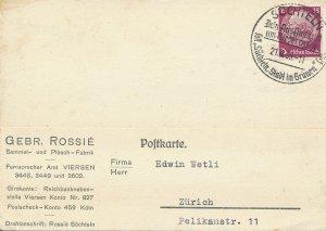 Cover Germany Bohemia Czechoslovakia WWII 1939 Occupy Sudentenland Switzerland