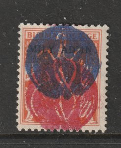 Burma Japanese Occup. a KGVI 2a with double overprint