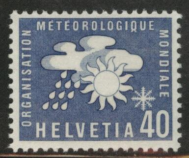 Switzerland Scott 8o6 MNH** Meteorological stamp