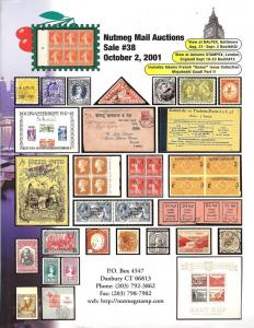 Nutmeg Stamp Sales, - Worldwide Stamps, Covers and Postal...