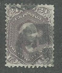 1862 United States Scott Catalog Number 78 Used