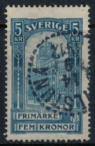 Sweden #66  CV $27.50  Sept. 14, 1912 cancellation