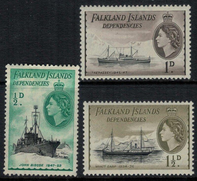 Falkland Is. #1L19-20*  CV $4.00