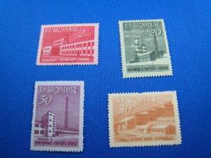ALBANIA 1963 - SCOTT # 697-700  MNH