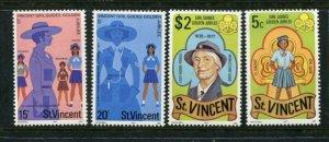 St. Vincent MNH 504-7 Girl Guides Golden Jubilee