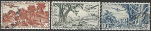 French Equatorial Africa #C31-C33 Used Full Set of 3
