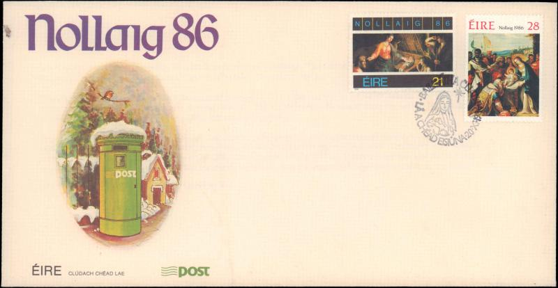 Ireland, Worldwide First Day Cover