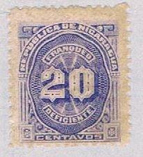 Nicaragua Numeral 20 (AP112703)